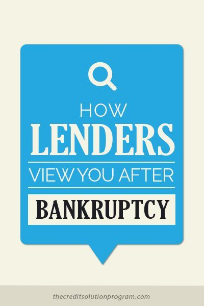Can I Qualify For A Good Loan After Bankruptcy Credit Repair Bankruptcy Best Loans
