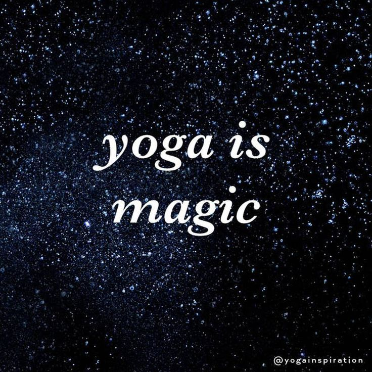 Inspirational Quotes On Life: Yoga Is Magic. Deep Inspirational & Motivational Quotes