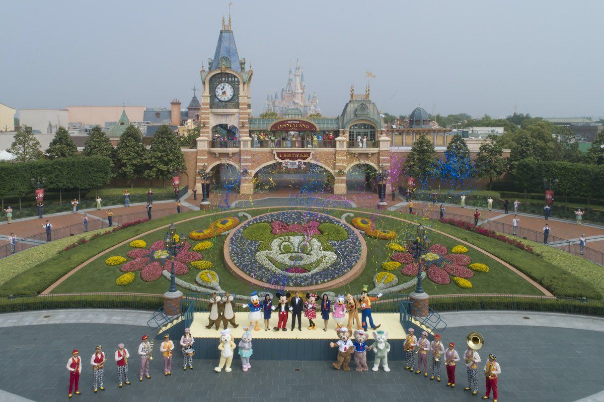 Shanghai Disneyland reopens with controlled capacity in
