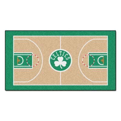 """NBA Boston Celtics Basketball Court 54"""" x 30"""" Runner Multi ..."""
