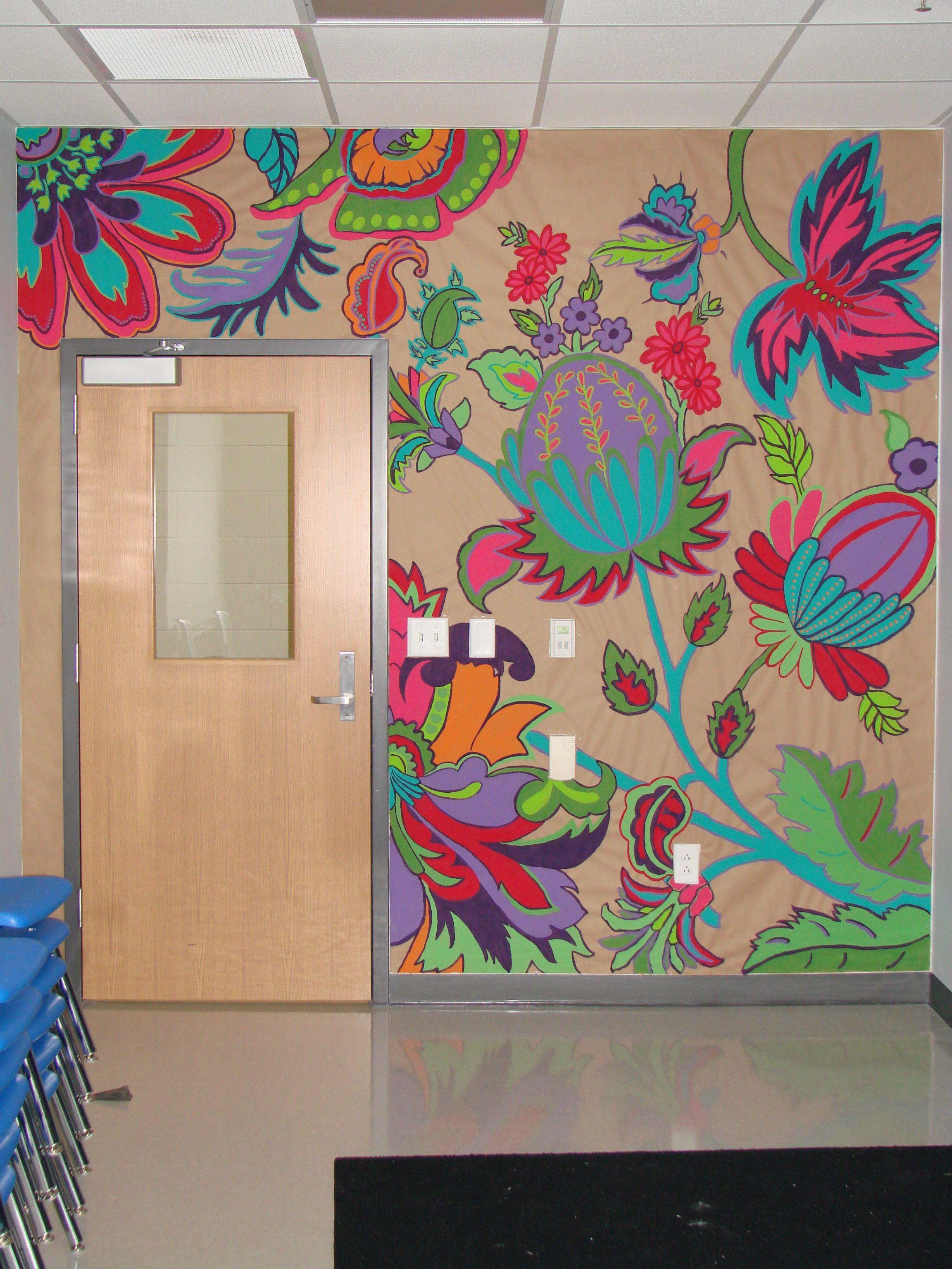 Classroom Art Wall Mural