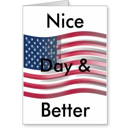 #USA #Have a #Nice #Day and a #Better #Night Customise Product #Customise #Product #Horizontal #Hakuna #Matata #Maasai #Greeting #Card I #love #USA