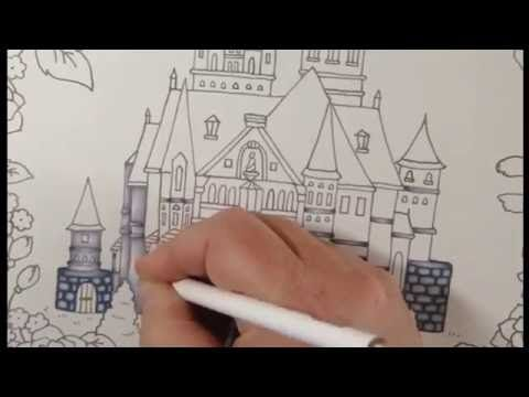 Tutorial Romantic Country Coloring Book Color With Me Youtube Coloring Books Romantic Country Romantic