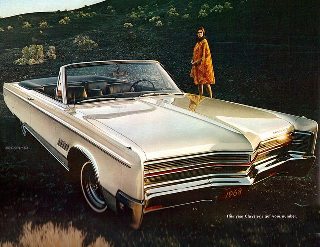 1968 Chrysler 300 Convertible Chrysler 300 Convertible Chrysler