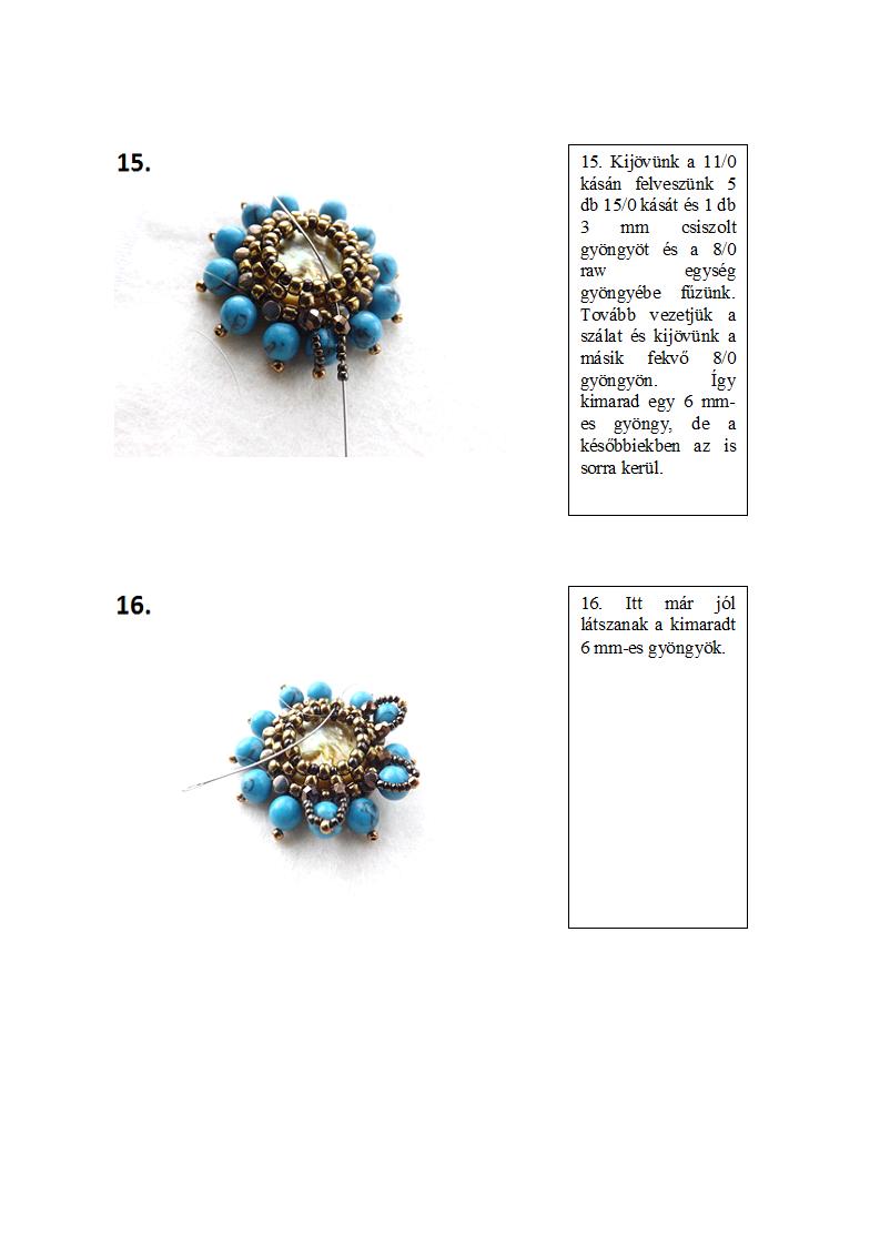 dbea: Októberi minta - Őszirózsa medál