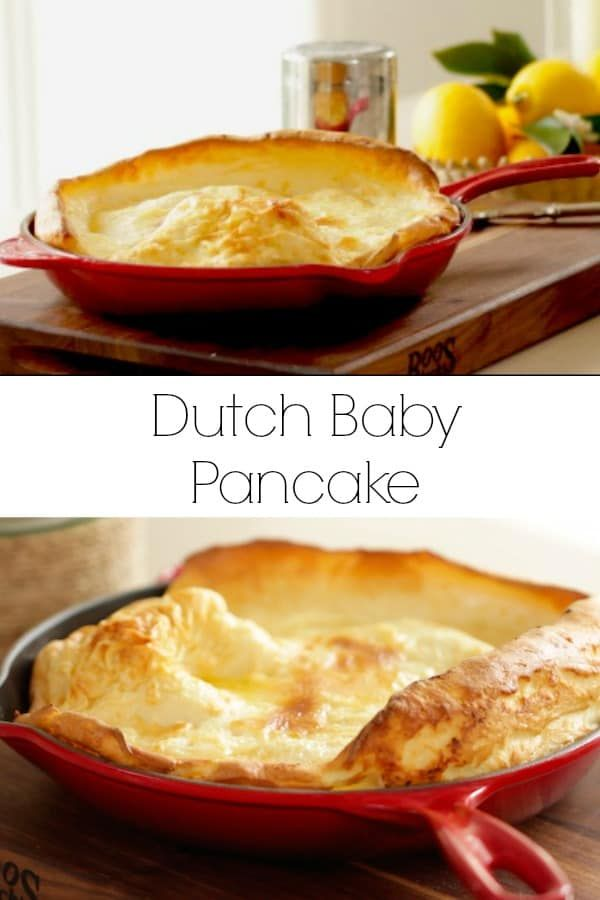 Dutch Baby Pancake Learn how to make a Dutch Baby Pancake Recipe a classic weekend treat! Perfect as a Brunch Recipe or for Christmas Morning Breakfast. INCLUDES RECIPE VIDEO!   via @EntWithBeth