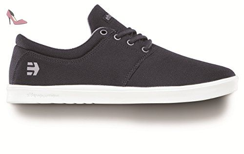 Etnies Scout, Chaussures de Skateboard Homme, Noir (Black/Grey/Silver), 42.5 EU (8.5 UK)