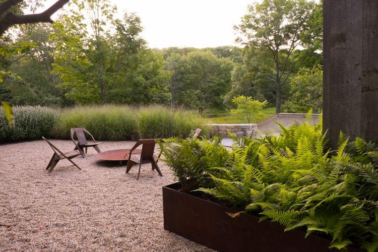 Hudson Highland Cottage Nelson Byrd Woltz Landscape Design Modern Garden Garden Design