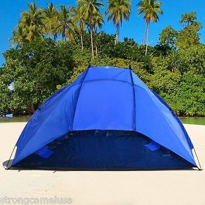 Portable Beach Shelter Sun Shade Canopy C&ing Fishing Beach Tent Outdoor Sport & Portable Beach Shelter Sun Shade Canopy Camping Fishing Beach Tent ...