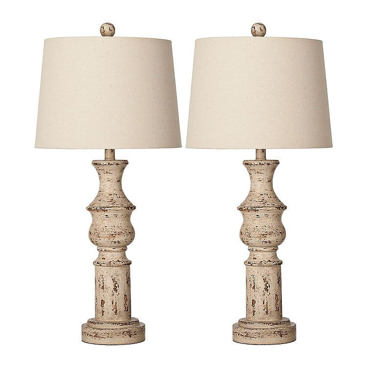 Kirkland S Farmhouse Table Lamps Cream Table Lamps Table Lamp