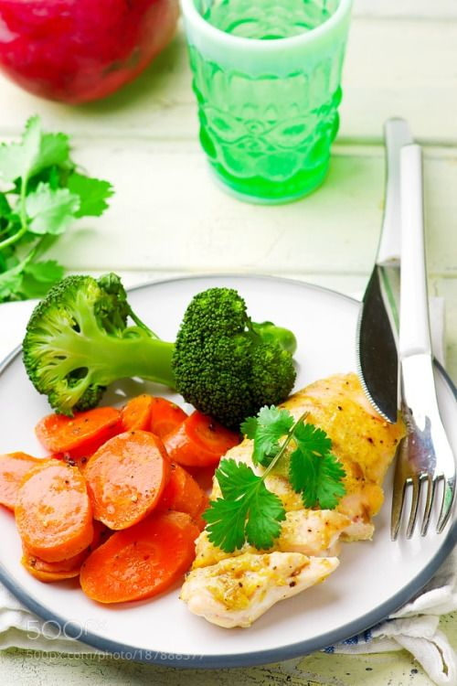 Baked chicken breast with Vegetables by zoryanchik76  IFTTT 500px