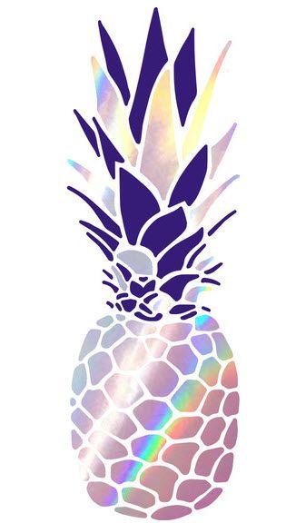 0b910ad8f Piña Colada, pineapple holigraphic tattoo by Tattoonie Premium Temporary…