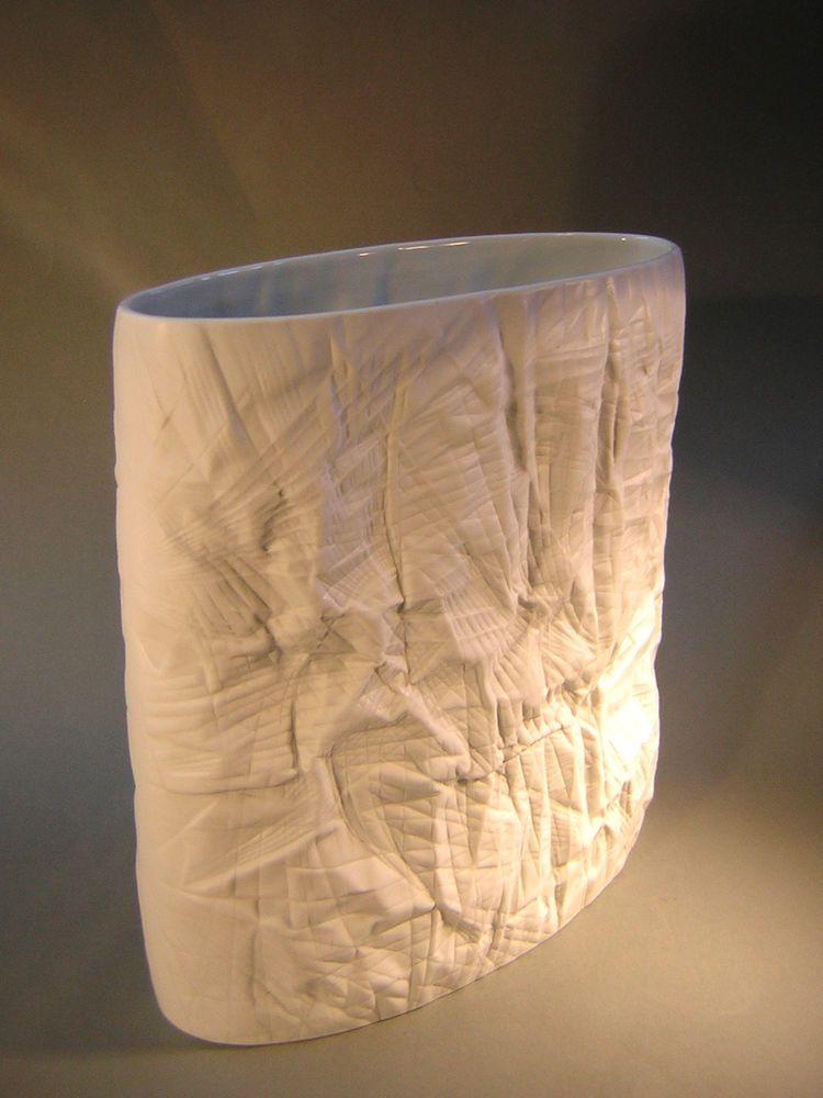 Details Zu Rosenthal Porzellan Vase Bodenvase Relief Perfekter