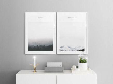 Scandinavisch decor en een eigentijdse affiches. www.desenio.nl ...
