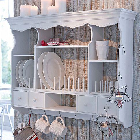Wandregal küchenflair Pinterest Wandregal, Impressionen und - wandregal küche landhaus