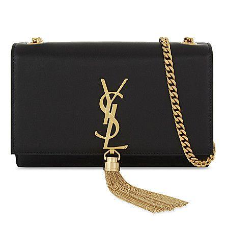 bacbdc0c2ab7 SAINT LAURENT Monogram Kate Small Leather Cross-Body Bag.  saintlaurent   bags  shoulder bags  leather