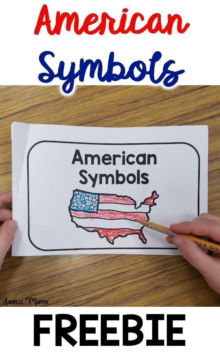 FREE American Symbols Reader for President's Day -   19 simple crafts kindergarten ideas