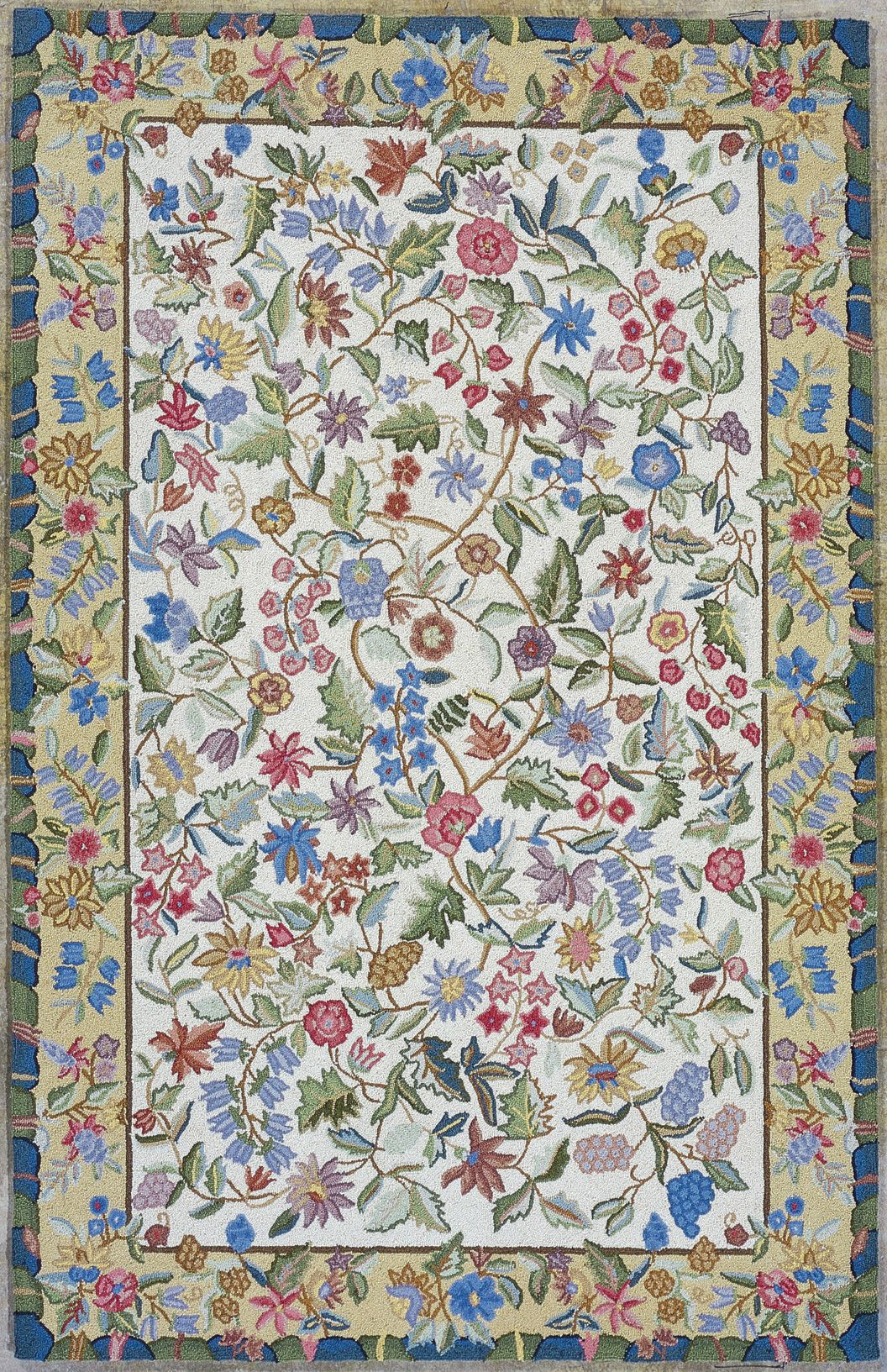 KAS Rugs Colonial Floral Area Rug & Reviews | Wayfair