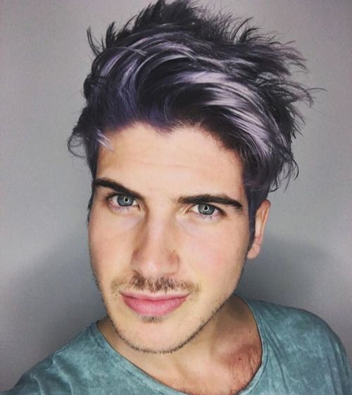 Joey Graceffa Hair Dye Google Search Men Hair Color Boys Colored Hair Mens Hair Colour