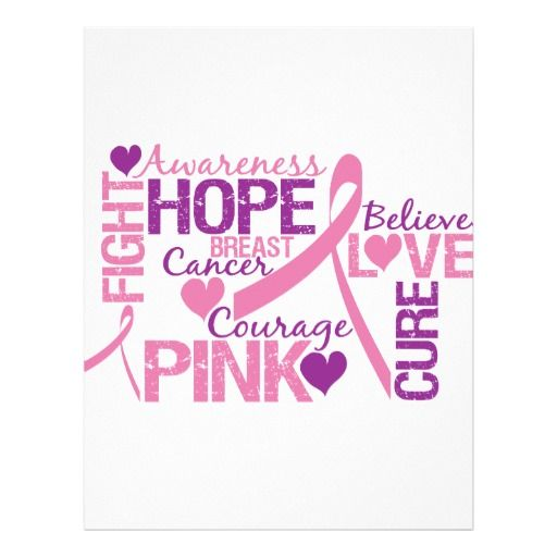 Breast Cancer Awareness | Breast Cancer Awareness Flyers from Zazzle.com