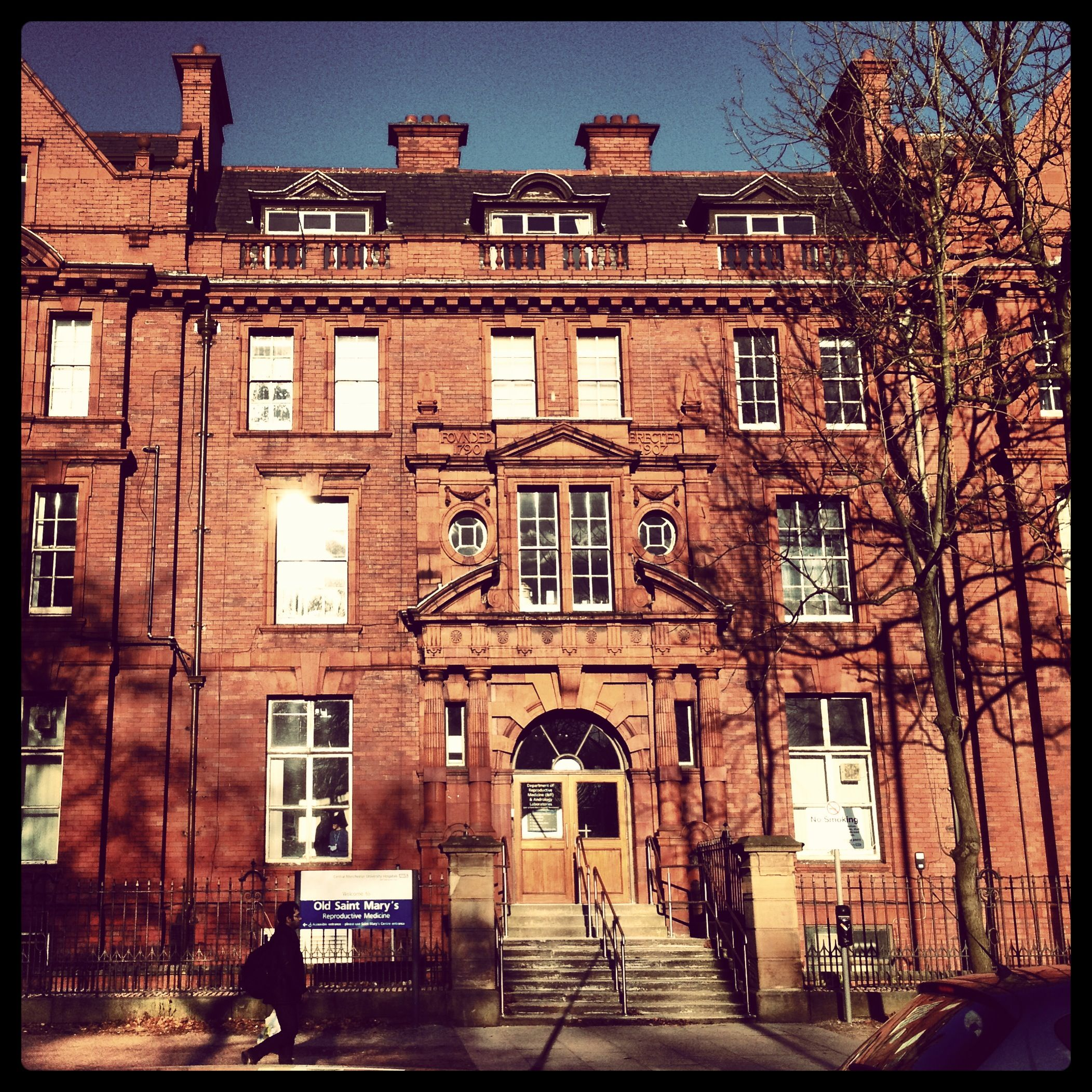 St Mary's Hospital In Manchester