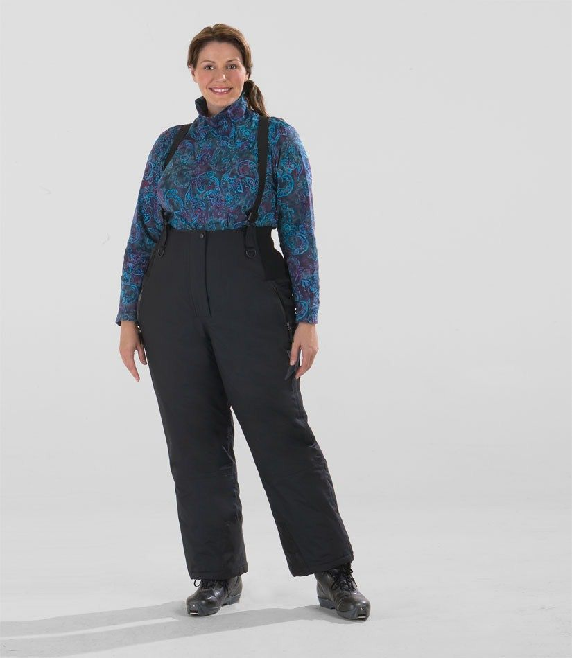 Plus Size Ski Pants  Womens Plus Size High Waist Ski Pant - Junonia ... f80216fe1