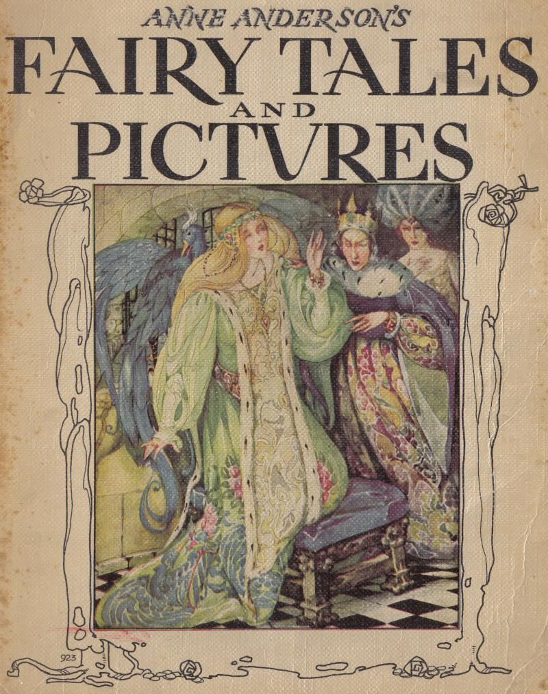 Anne Anderson' Fairy Tales And Frontispiece