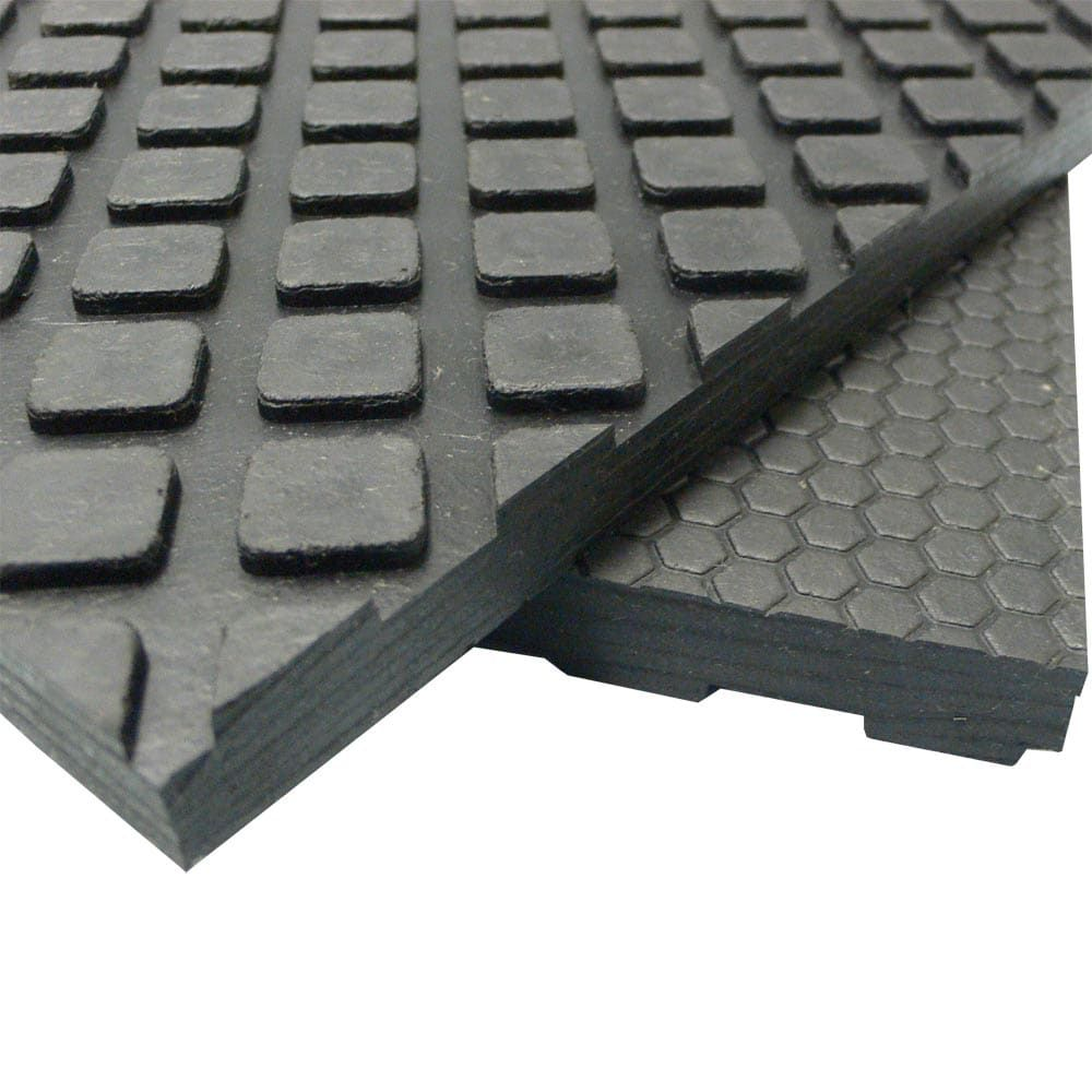 Rubber Cal Maxx Tuff Floor Protection Mats 1 2 Thick Rubber Matting Available In 3 Sizes Black In 2020 Rubber Flooring Rubber Mat Flooring
