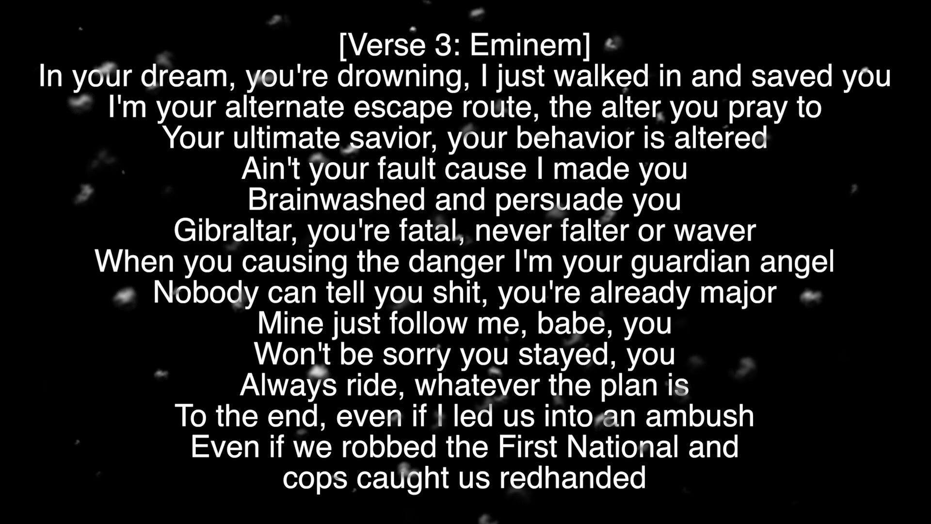 Kill For You Skylar Eminem Eminem Brainwashing Verse