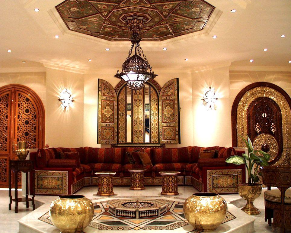 House Arab Style Moroccan Decor Arabic Decor Moroccan Interiors