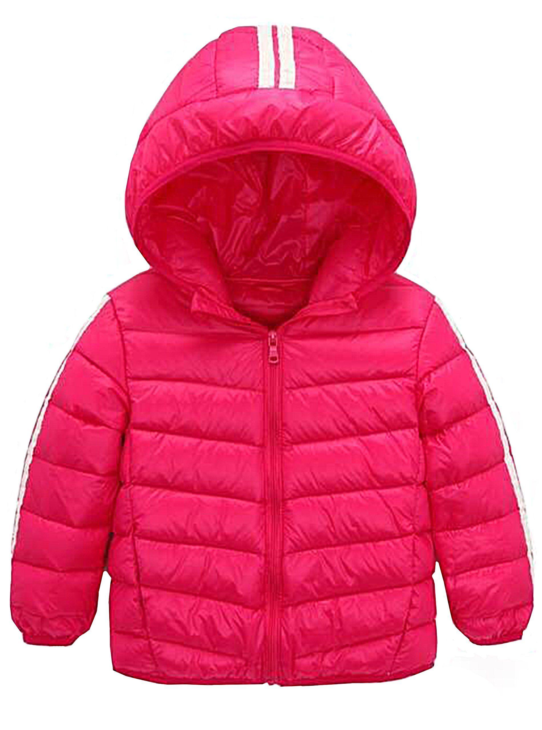 Capturelove Girls Lightweight Hooded Puffer Down Vests