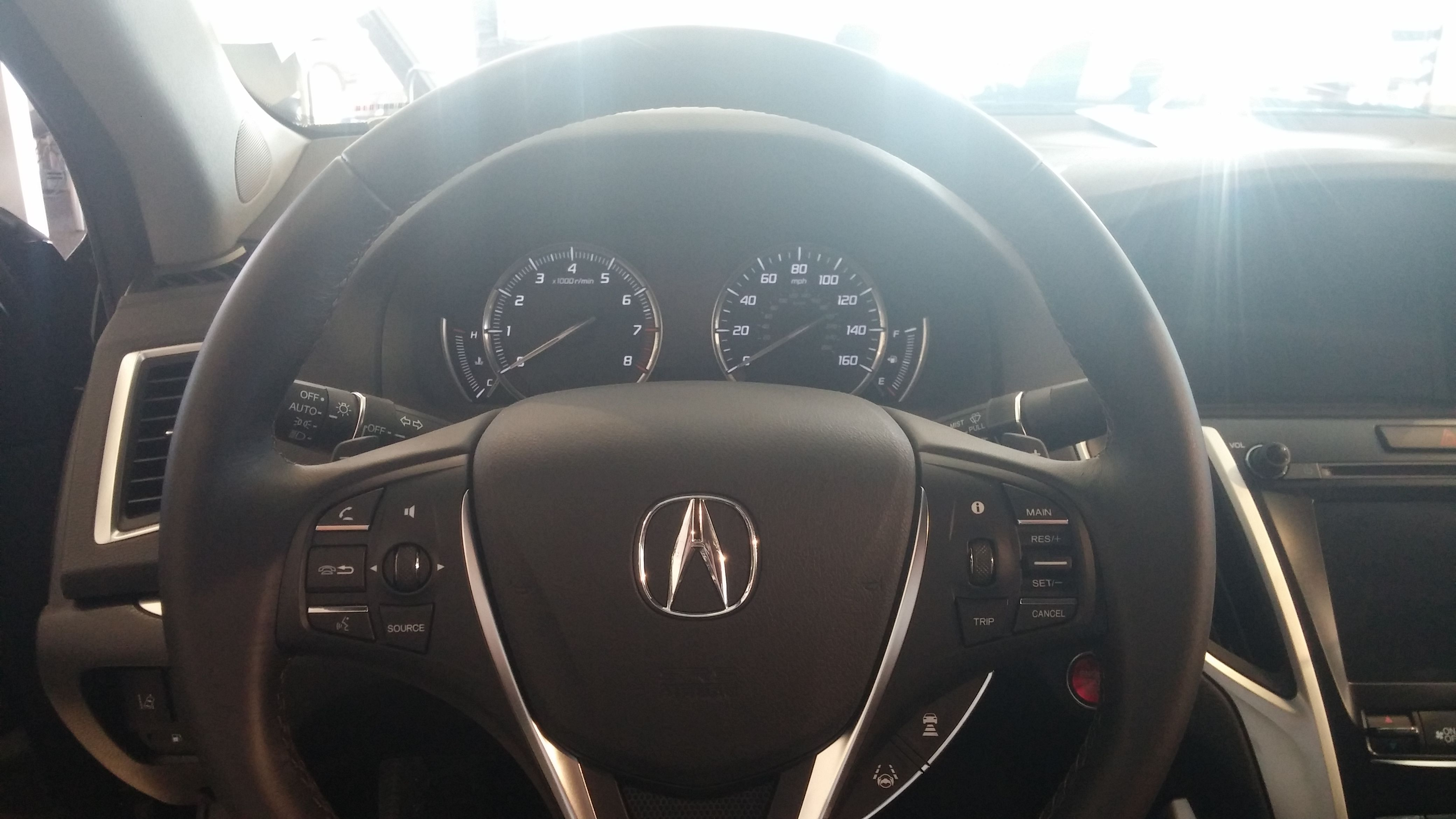 Can you imagine yourself behind the wheel of a TLX?