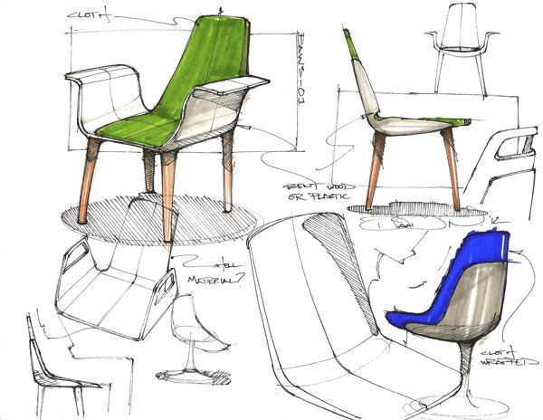 Sketchbook By David Ngene Via Behance Design De Produto Croquis Ilustracoes