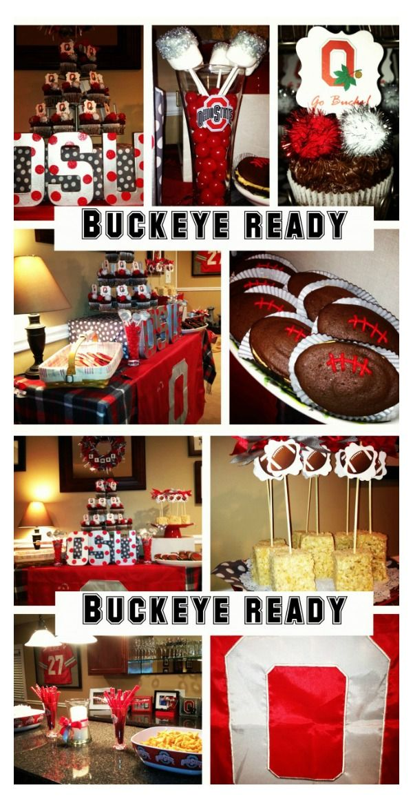 Ohio State University Party Ideas Charming Touch Parties
