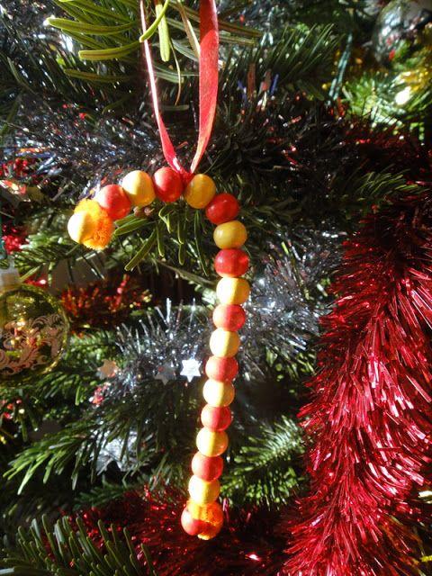 décoration a faire par les enfants avec des perles