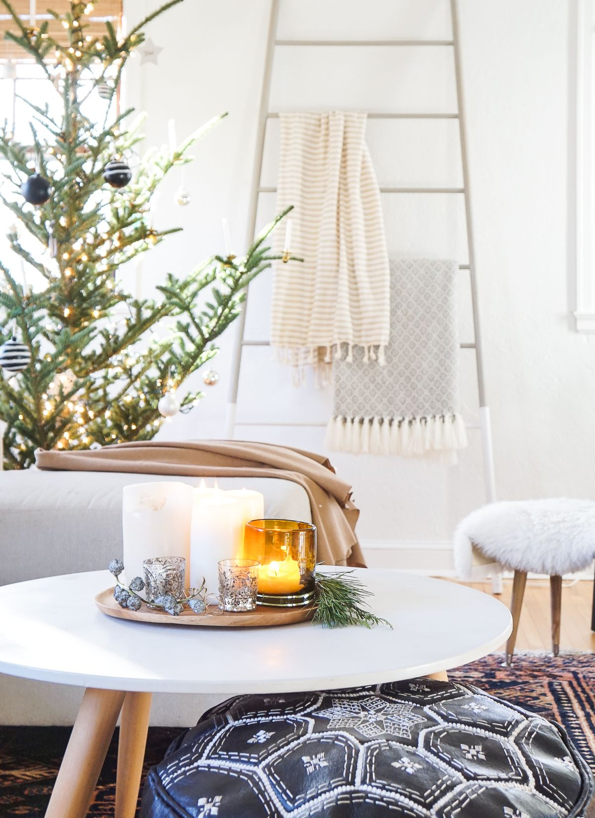 Take a look around my home all dressed up for the Holidays, and find out where we draw festive inspiration from! (Holiday home tour)