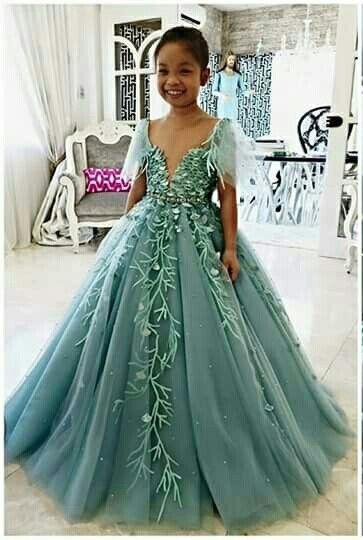 Mak Tumang Dress Wedding Dresses For Kids Girls Dresses Kids Gown