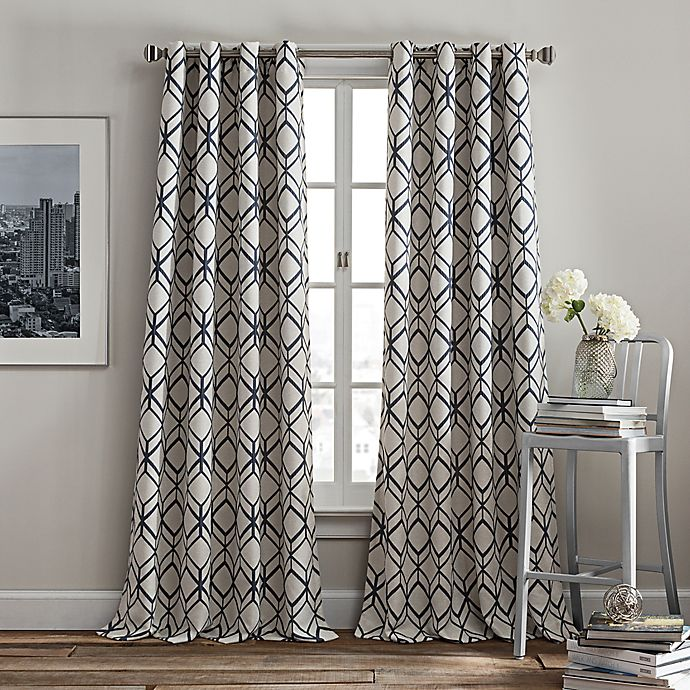 Rutherford Grommet Window Curtain Panel Bed Bath Beyond In 2020 Panel Curtains Window Curtains Curtains