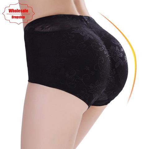 41545d6bd53 NINGMI Butt Lifter Enhancer Women Sexy Big Ass Padded Panty Seamless Lace Control  Panties Booty Push