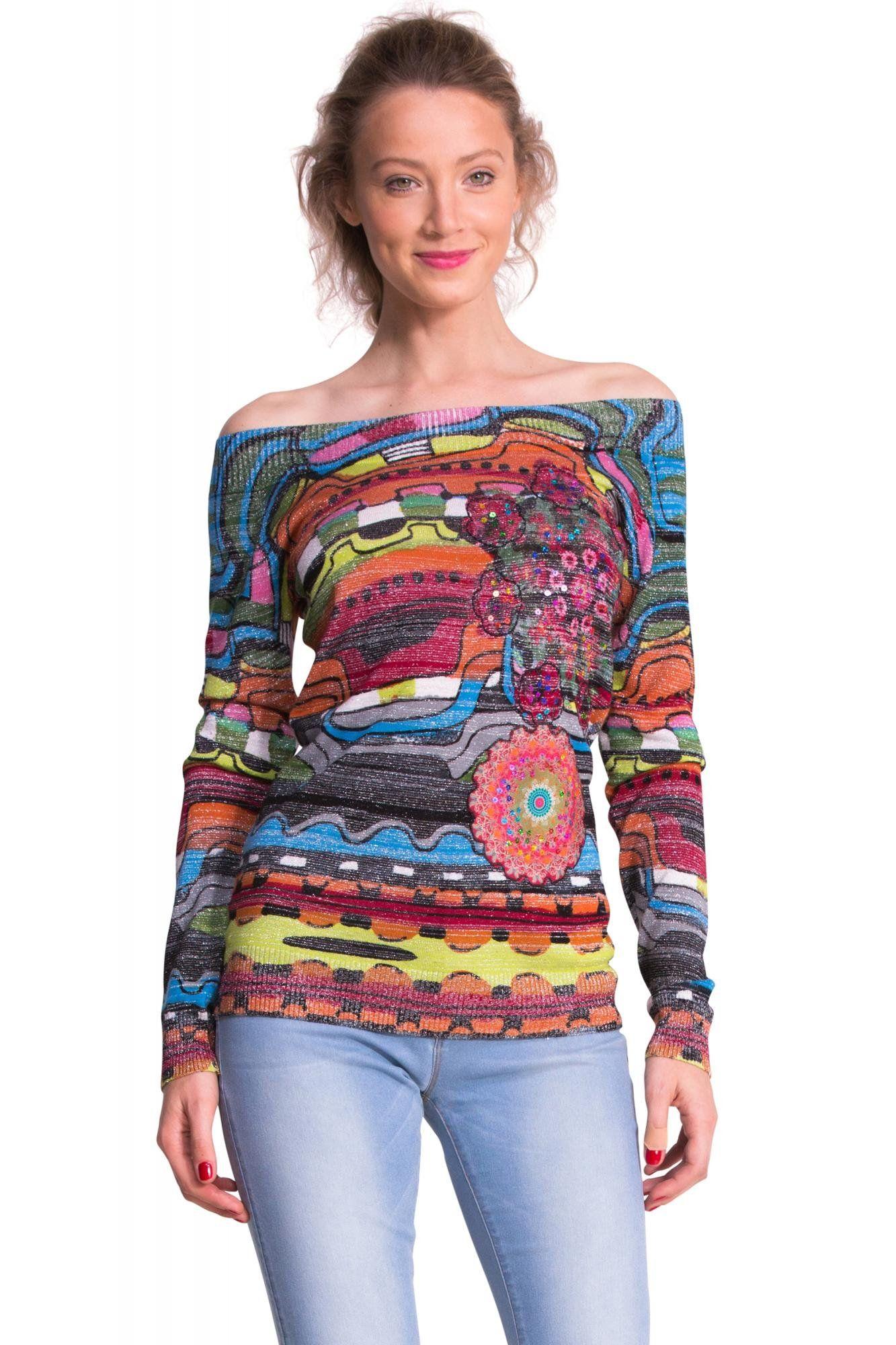 eea7f288b9a Desigual Sweater Fiesta