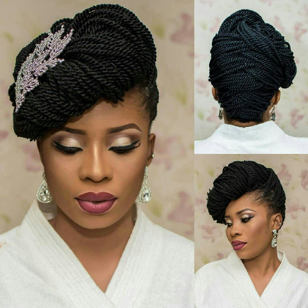 Pin By Kwesi Charles On All Wedding Ideas Braided Hairstyles Updo Natural Hair Braids Braided Hairstyles For Wedding