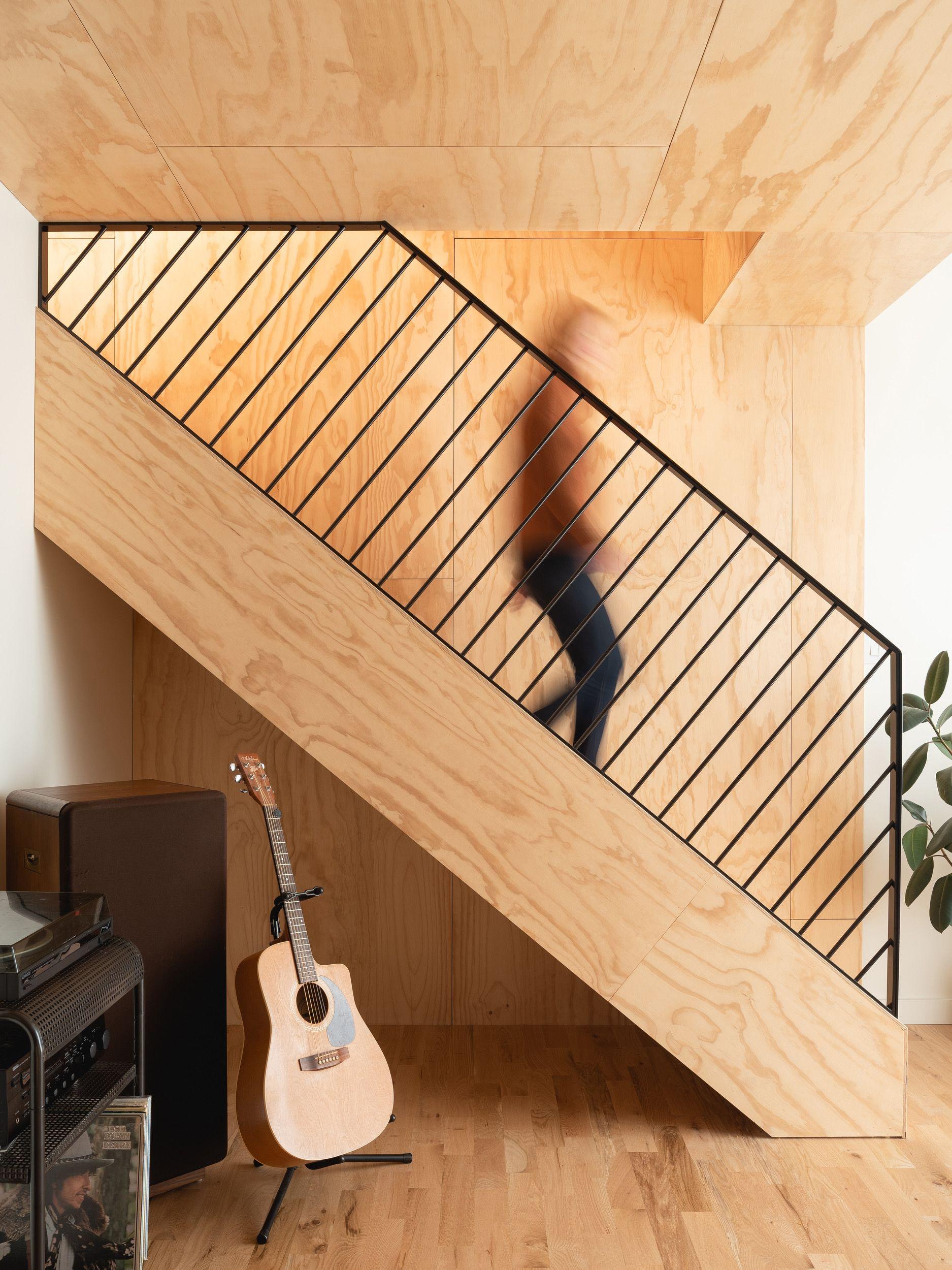 Projet par MOA à Montréal, Québec (Canada). Escalier en ...