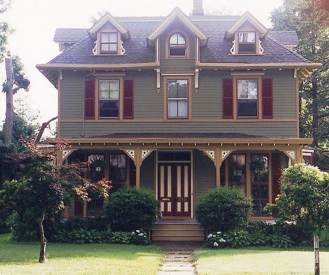 Italianate Vernacular by Historic House Colors   Pre-Civil War ...
