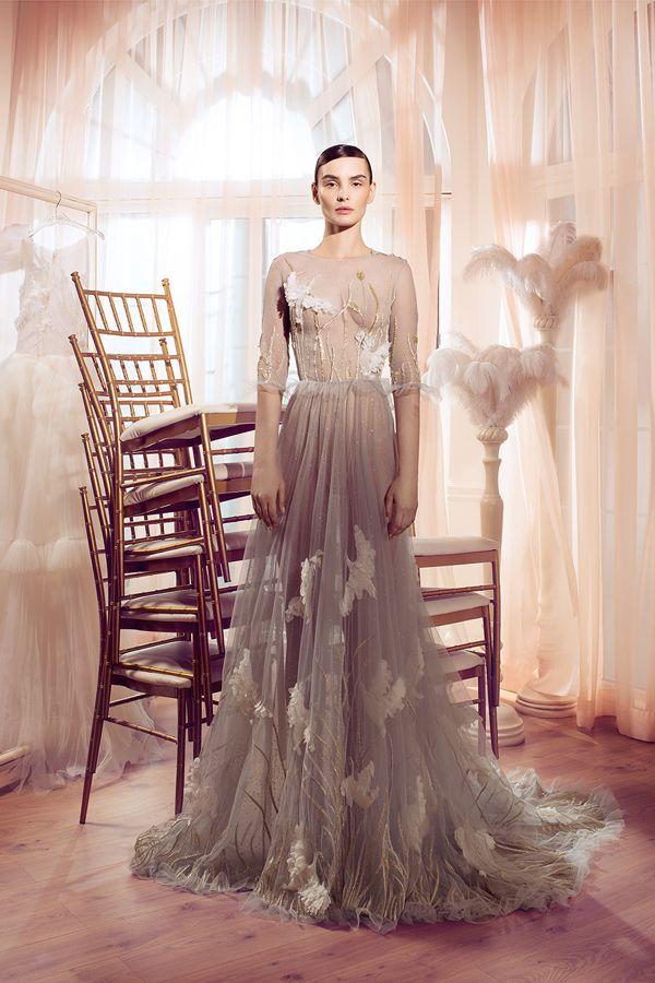 WedLuxe – Hamda Al Fahim – Spring/Summer 2017 Collection |  Follow @WedLuxe for more wedding inspiration!