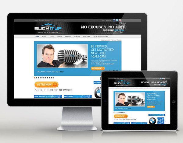 Suck It Up! Marketing campaign, branding, brochure design, website