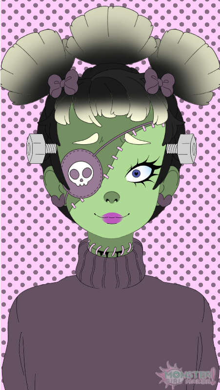 Shelly Franklin Monster girl, Anime, Character creator