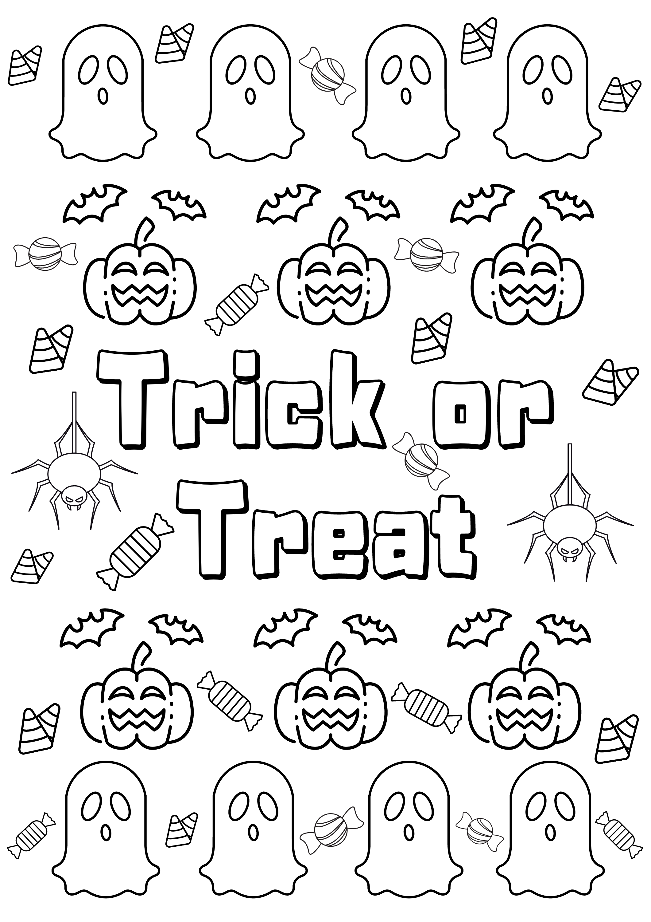 5 Halloween Colouring Sheets Diy Halloween Coloring Pages For Kids Printables Activities Halloween Party Instant Download In 2021 Kids Printable Coloring Pages Halloween Coloring Pages Halloween Coloring