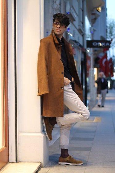 Get this look: http://lb.nu/look/7349478  More looks by ONUR EROL: http://lb.nu/onurollstyle  Items in this look:  Altınyıldız Coat, Hotiç Shoes, Carrera Etewear