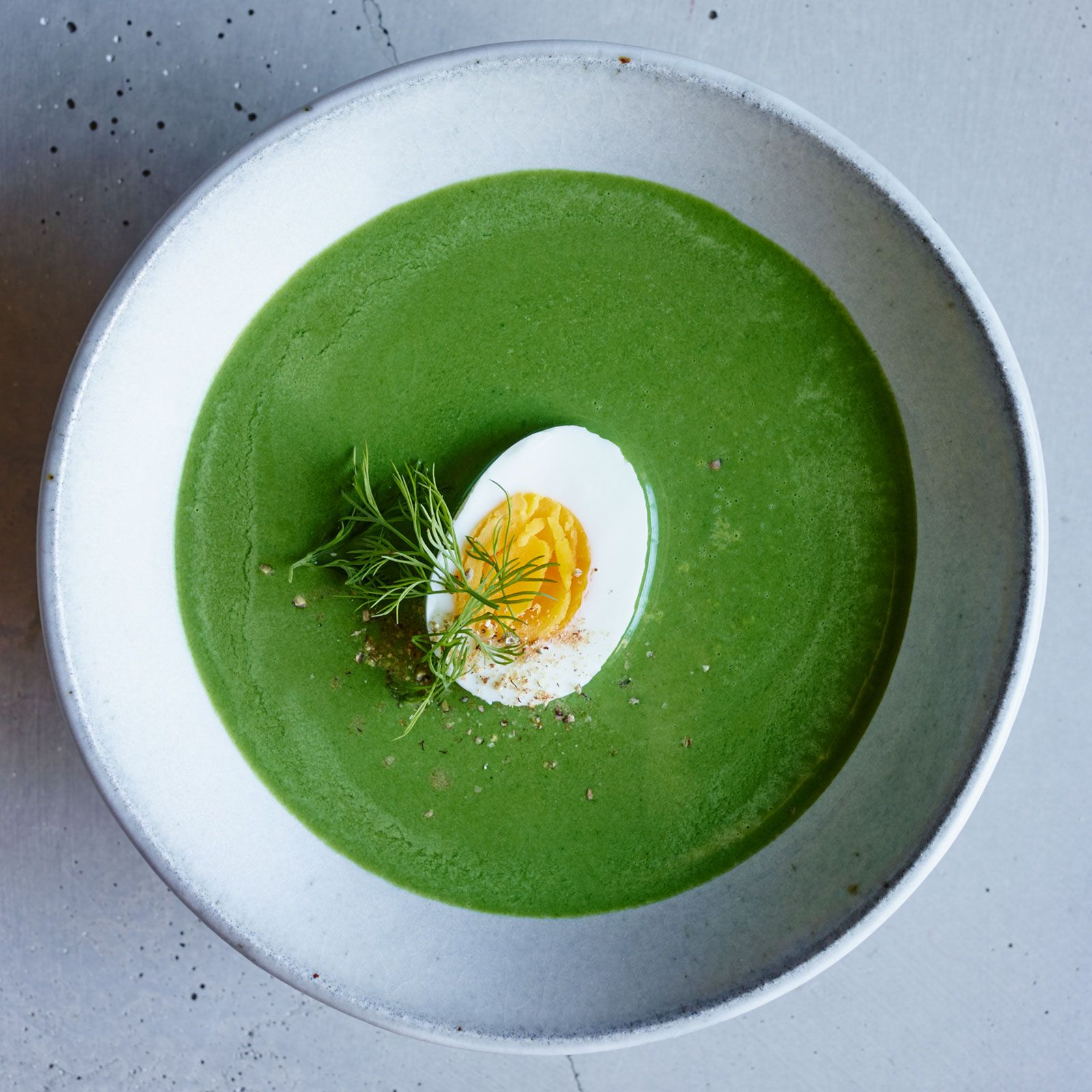 Creamy Spinach Soup with Dill | Food & Wine