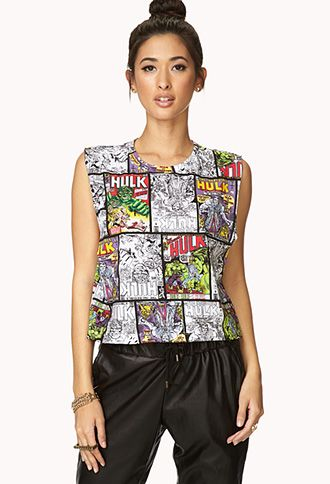 The Incredible Hulk Muscle Tee | FOREVER21 - 2000127466